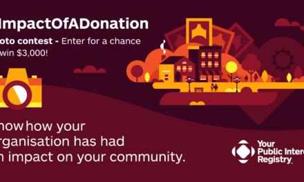 PIR.org Sponsors #ImpactOfADonation Contest