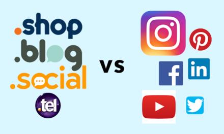 Domain Names are the new Social Media Handles