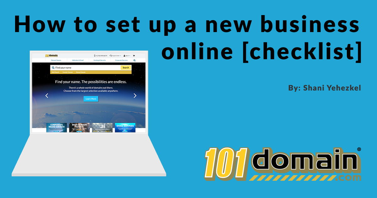 How To Set Up A New Business Online [checklist]