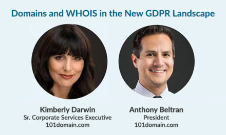 Domains and WHOIS in the New GDPR Landscape