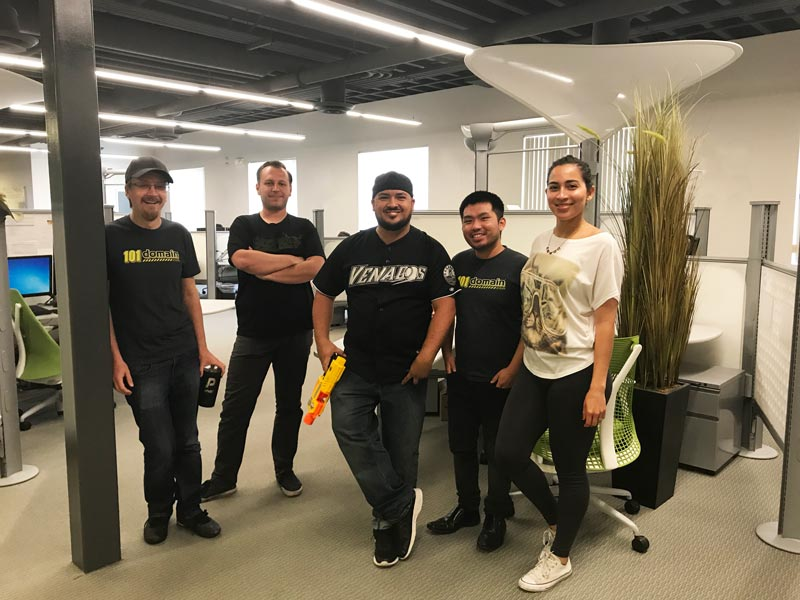 the new shared hosting team