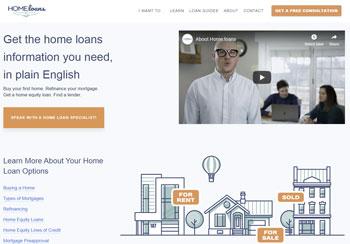home loans buy a premium domain name