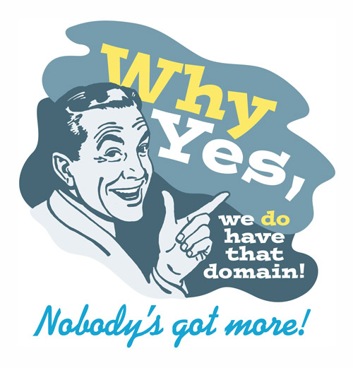 manage your domains why yes we do have that domain name