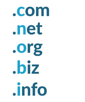 CNOBI domains .com .net .org .biz .info