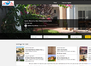 website for military .homes domain