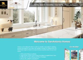 website for sanantonio .homes domain