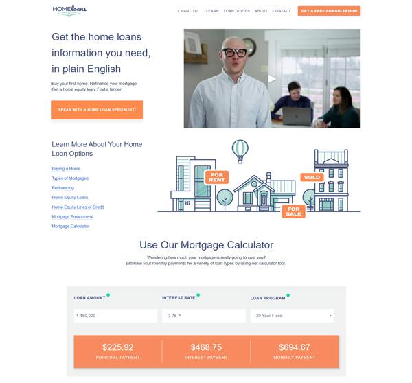 home.loans website