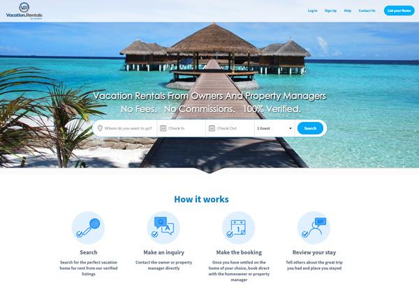 vacation.rentals website