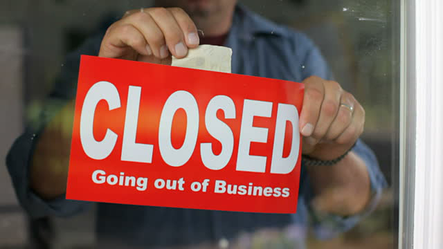 Closed going out of business due to DNS attacks