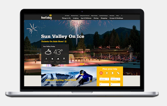 Sun Valley website