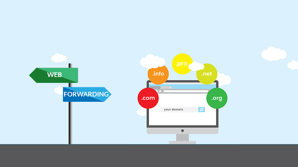 What is Domain Web Forwarding?