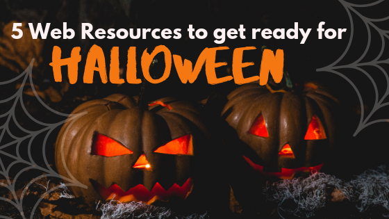 5 Web Resources to get ready for Halloween