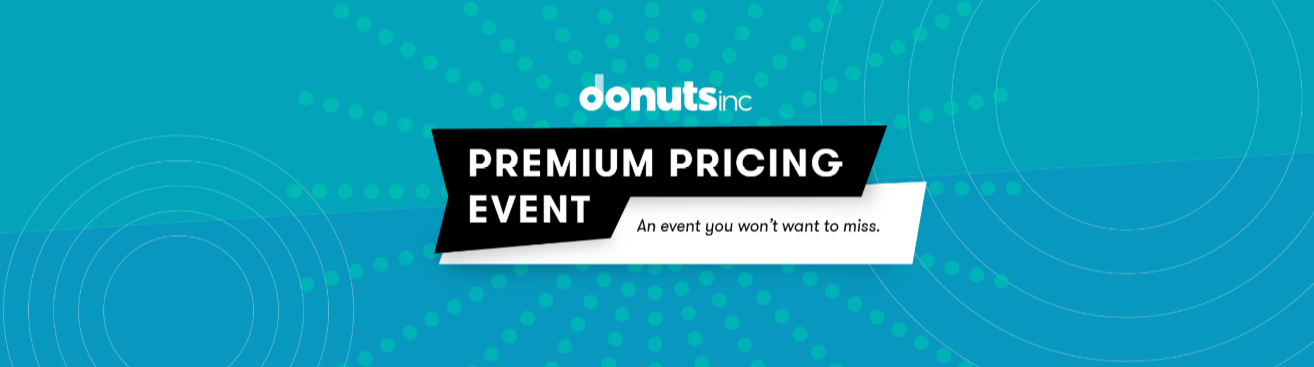 Donuts premium domains pricing event