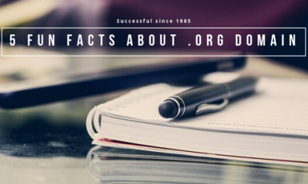 5 Fun Facts About .ORG Domain