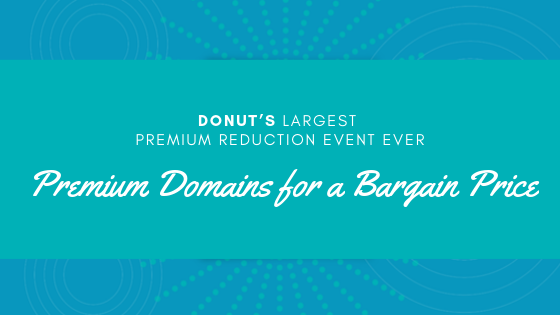 Premium Domains for a Bargain Price