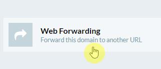 web forwarding for .tv domain