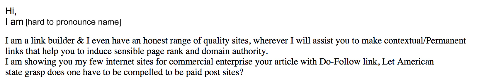 SEO backlink email 3
