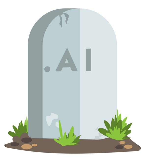 expired domains go to .ai auctions