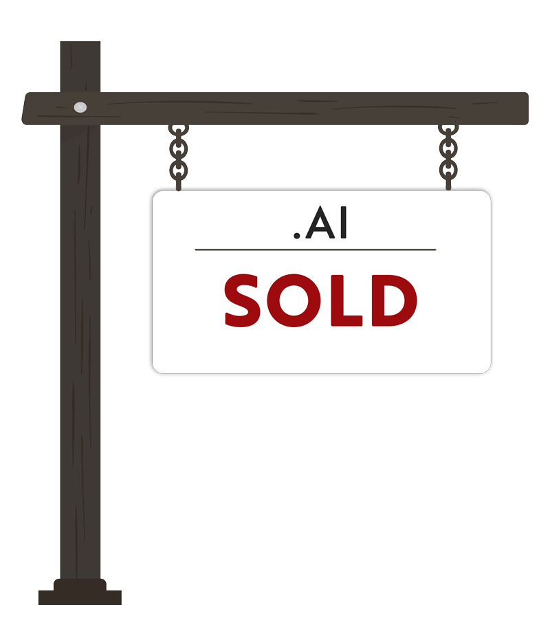 domains sold at .ai auctions