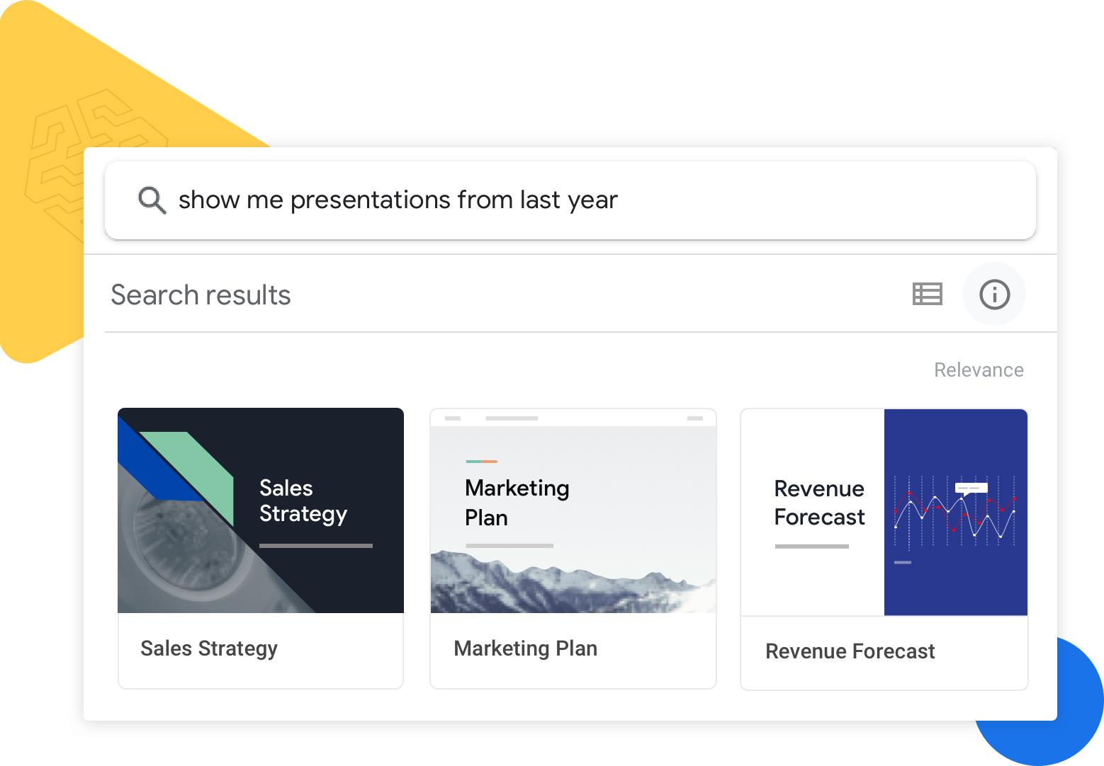 Google Drive search