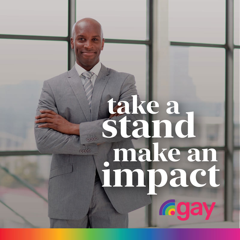 Take a stand and make an impact with .gay domain