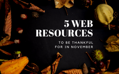 5 Web Resources to be Thankful for in November