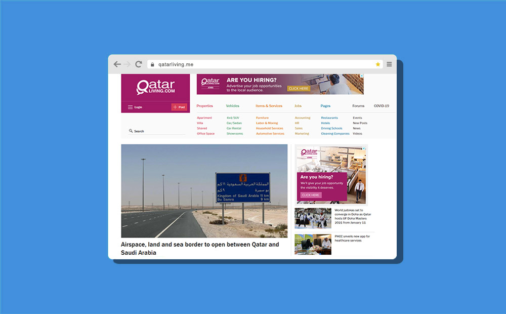 qatarliving .me domain