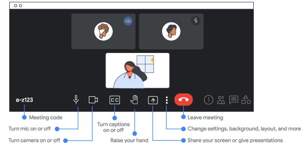 google meet interface 1