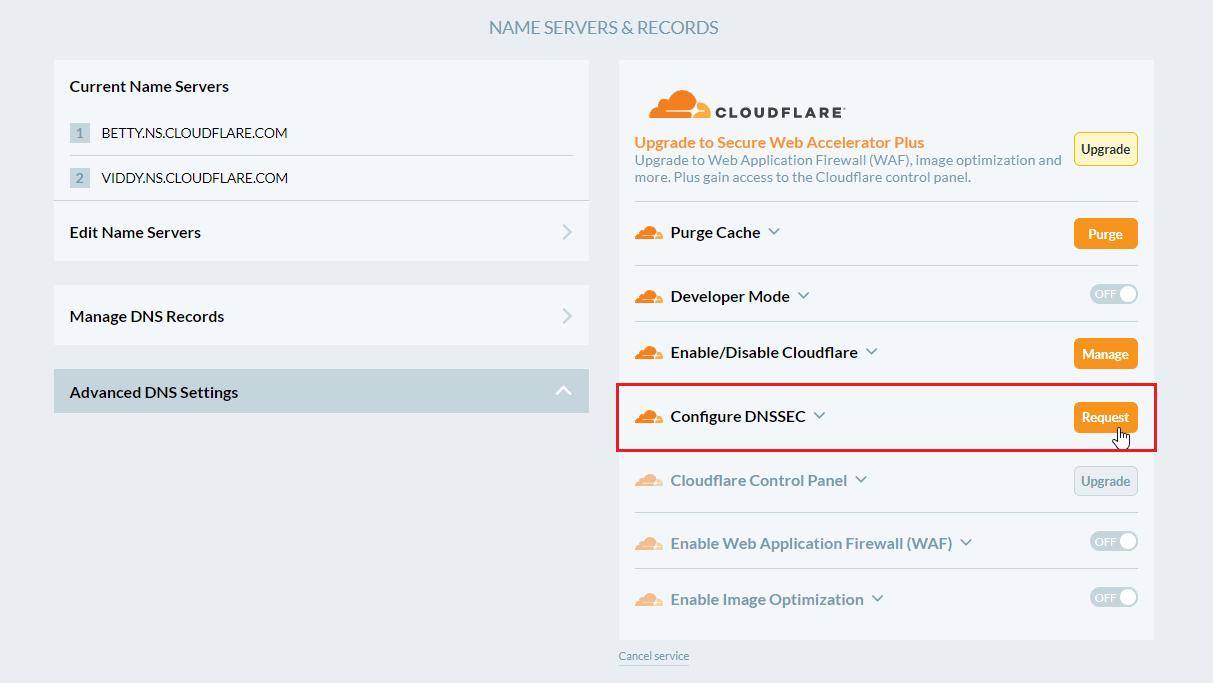 Cloudflare DNSSEC